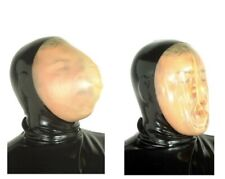 CAGOULE en latex vacuum rebreather rubber vacuum hood LRG BDSM
