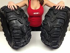 2 NEW Sedona 24x8-12 ATV MUD REBEL TIRES 24 8 12 Tire aggressive 24x8x12 pair