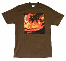 Iggy Pop Stooges Funhouse 2007 US Euro Tour Brown T Shirt XL New Official NOS