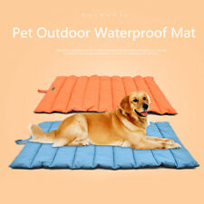 Large Pet Dog Cat Bed Outdoor Portable Waterproof Mat Puppy Cotton Soft Mattress