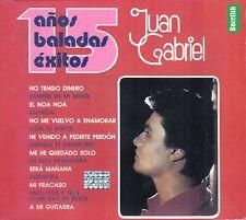 Juan Gabriel 15 Anos De Baladas Exitos Caja De Carton CD New Nuevo sealed