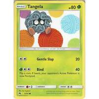Pokemon TCG Card: Tangela - 1/214 - Common Card - Sun & Moon Lost Thunder SM8