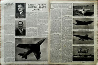 Early Flyers Would Have Gasped! Vintage Aviation Article Sir Frank Whittle 1949