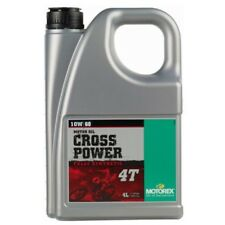 Motorex Cross Power 4T 10W60 10W 60 fully synthetic engine oil motorcycle 4L