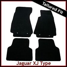 Jaguar XJ XJ6 X350 X358 SWB 2003-2009 Tailored Fitted Carpet Car Mats BLACK