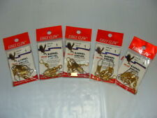 Eagle Claw BRASS Snap Swivels  - Size 1 - 5 packages, 3 per package