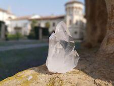 Quarzo ialino, aggregato di cristalli (Rock Crystal cluster)