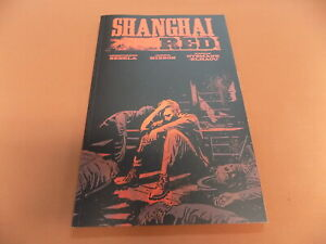 Shanghai Red Graphic Novel - Chris Sebela!