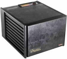 Excalibur 3900B 9 Tray Dehydrator Black Adjustable Thermostat Mesh Inserts