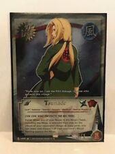 Tsunade [The One Who Protects The Big Tree] #US049 Foil Naruto CCG NM/MT