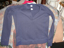 Stio Youth medium Long sleeve Thermal Cold Weather Top blue