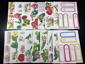 17 Sheets Anna Griffin Pocket Embellishments Card Making Scrapbooking