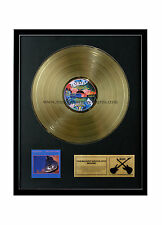 """RGM1020 Dire Straits Brothers in Arms Gold Disc 24K Plated LP 12"""""""