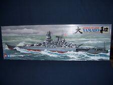 Japanese Battleship Yamato 1/350 Scale Tamiya 1979