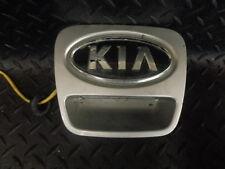 2009 KIA PRO CEED 1.6 3 3DR REAR BOOT BADGE HANDLE IN SILVER