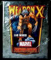 Weapon X Lab Wired Statue Wolverine New 2012 Bowen Designs Marvel Amricons X-Men