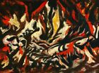 Print - The Flame, 1938 by Jackson Pollock