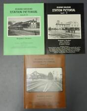 Lot 3 Reading Railroad Station Pictorial Books A-H G-M P-Z Ben Bernhart Signed