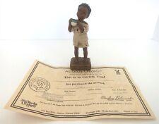 "All God'S Children 5.5"" Nakia A Cup In His Name Figurine W/ Coa & Box 1995"