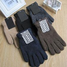Neuf Mode Femme Homme Unisexe Gants Tricoté Laine gants chauds Hiver Moufles HOT