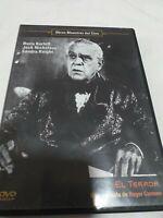 Dvd EL TERROR /BORIS KARLOFFY JACK NICHOLSON  coleccionistas