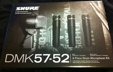 Shure DMK57-52 Drum Microphone Kit DMK 57-52 Mic Pack with 3x SM57 & Beta 52A