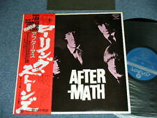 ROLLING STONES Japan 1976 NM LP+Obi AFTERMATH UK Version