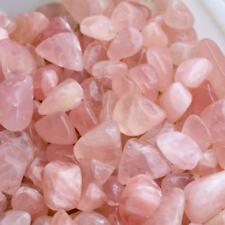 10X Pink Rose Quartz Crystal Tumble Stone Polished Healing Specimen Rock 18-30mm