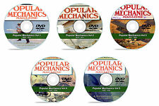 Popular Mechanics Magazine on DVD, Our 5 DVD Collector's Set, 251 issues in PDF