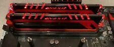 Avexir AVD3U24001004G-2CRR 8 GB 2x4GB 2400 MHz Rot LED beleuchtet RAM