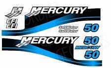 Blue MERCURY 50 motore fuoribordo quattro tempi MOTORE KIT ADESIVI DECAL
