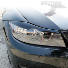"""""""SHIP FROM LA"""" BMW 3-Series E90 4D Front Eyelids Eyebrows Headlight Cover 06-11"""