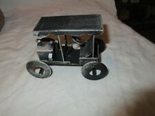 Steel Gray Car , Vintage , Collectible , Model Toy Car