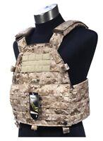 FLYYE LT6094 LBT Plate Carrier MOLLE Tactical Armor Vest – AOR1 Navy Seal Desert