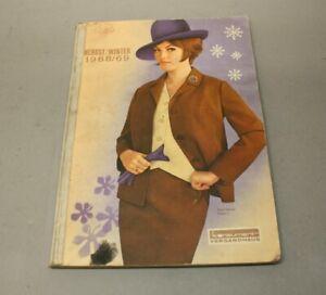Konsument Versandhaus Katalog DDR Herbst Winter 1968/69 Haushalt Kleidung 2755-1