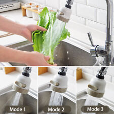 360 Rotate Swivel Nozzle Filter Adapter Faucet Water Saving Tap Aerator Diffuser