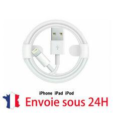 Original Lightning Usb cable Pour Apple IPHONE 1m 1 an garantie sans emballage