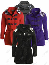 Plus Size Solid Parkas for Women