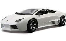 Bburago 1:24 Lamborghini Reventon Racing Car Vehicle Diecast Model White IN BOX