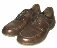Mephisto Men's Air Jet Lace Up Shoes Brown Leather 8.5 US 8 EUR