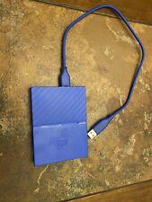 WD My Passport 2TB Blue (Thin) Portable Hard Drive (READ)