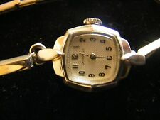 VINTAGE CARAVELLE WIND UP LADIES WRIST WATCH - stainless back - Early 60's