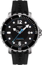 T0664071705702 Tissot Men's Seastar Analog Display Swiss Automatic Black Watch