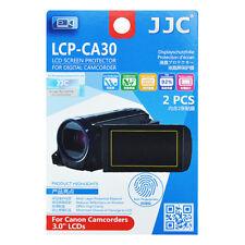 2x Film Ecran LCD Dureté H3 Protection pour Canon Caméscope 3,0'' pouces
