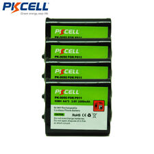 4x Cordless Phone AA 2000mAh 3.6V Battery For Panasonic P-P511-PKCELL