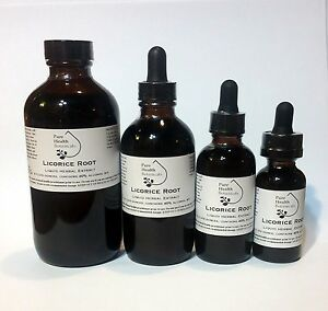 Licorice Root Tincture/Extract, Stress, Liver, Hormone Support, Highest Quality