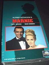 Marnie (VHS, 1990) NEW Alfred Hitchcock Movie With Sean Connery Tippi Hedren