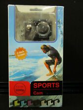 """1080p Sports Cam Full Hd Waterproof 30M -2"""" Screen-New Other"""