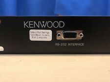 Kenwood Repeater Panel