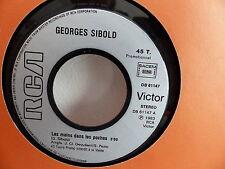 GEORGES SIBOLD Les mains dans les poches DB 61147 PROMO